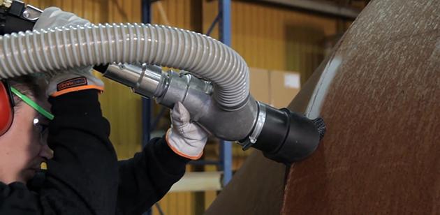 Variblast energy and public utitlies vacuum blasting services