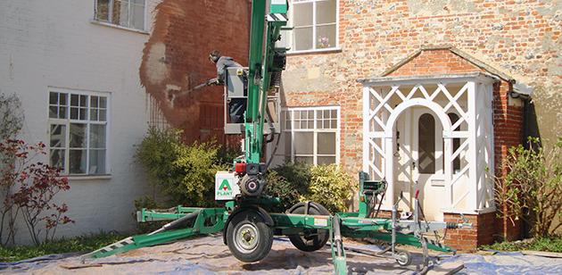 Variblast residential property restoration cleaning