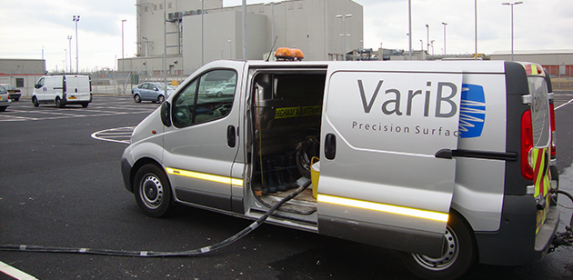 Variblast energy and public utitlies blast cleaning services