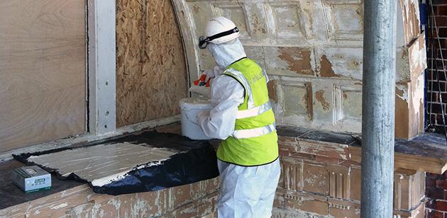 variblast property restoration - chemical strip paint removal